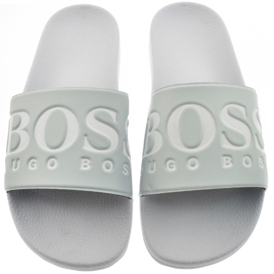 Main Product Image for BOSS Athleisure Solar Sliders Blue