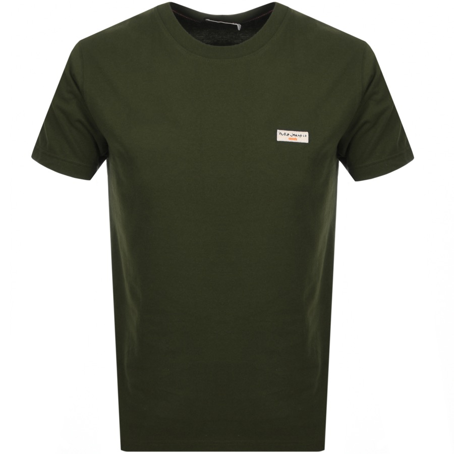 Main Product Image for Nudie Jeans Daniel T Shirt Green
