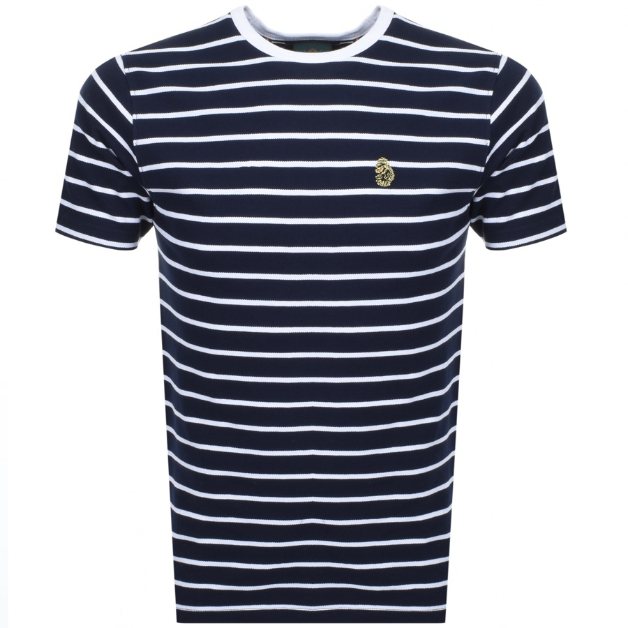 Main Product Image for Luke 1977 Finn Stripe T Shirt Navy