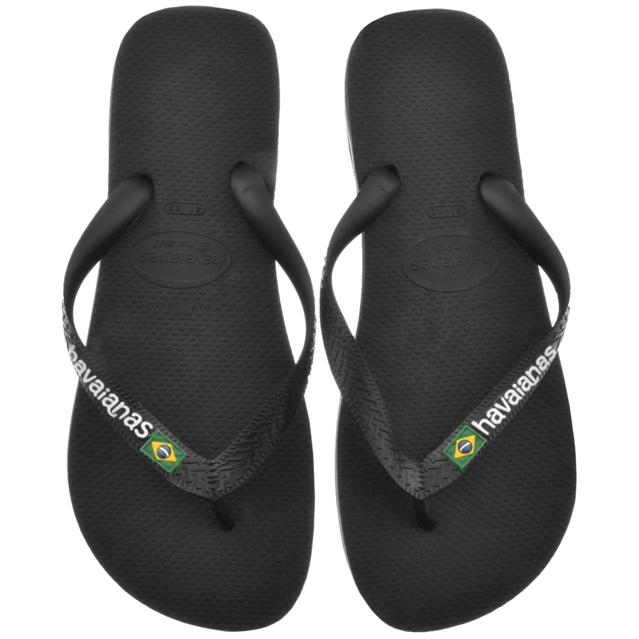 743f3dd92c6f Product Image for Havaianas Brazil Logo Flip Flops Black