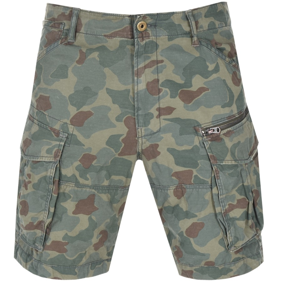 Main Product Image for G Star Raw Rovic Relaxed Shorts Green