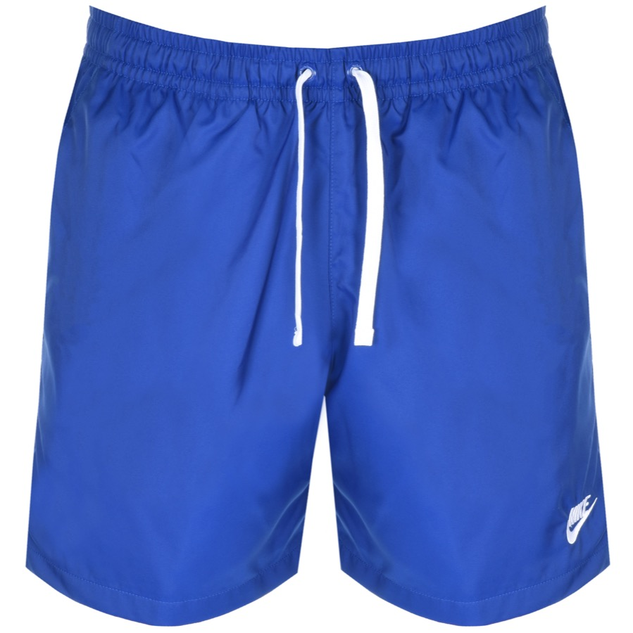 Nike Flow Logo Swim Shorts Blue