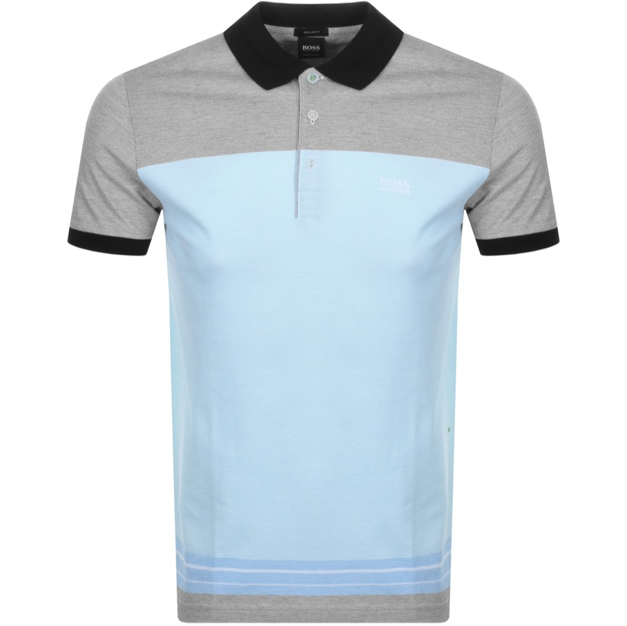 Main Product Image for BOSS Athleisure Paddy 4 Polo T Shirt Blue