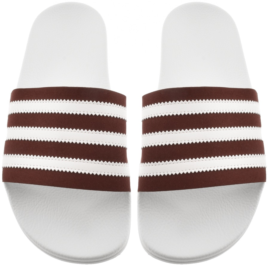 Adidas Originals Adilette Sliders White