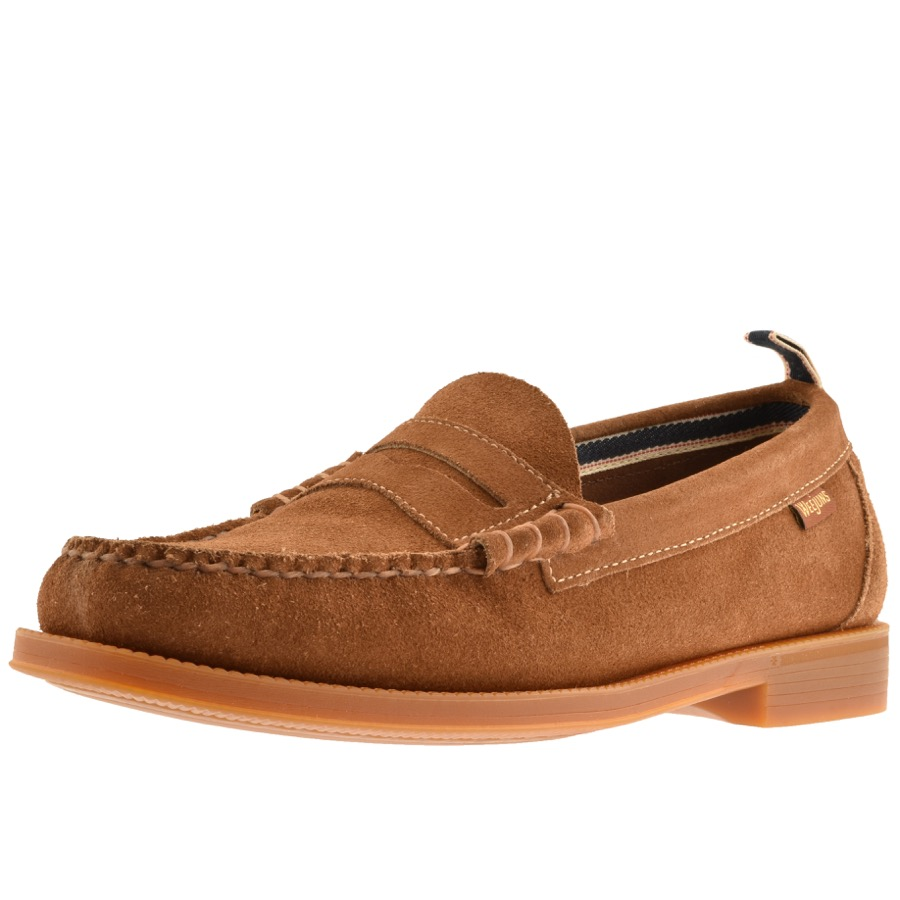 c4b6874f9a3 Product Image for GH Bass Weejun II Larson Suede Loafers Brown