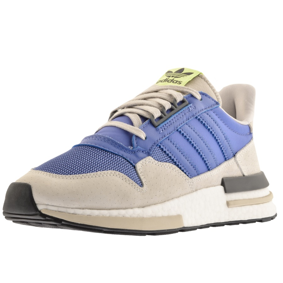 low cost bc57b 2c25f adidas Originals ZX 500 RM Trainers Blue | Mainline Menswear