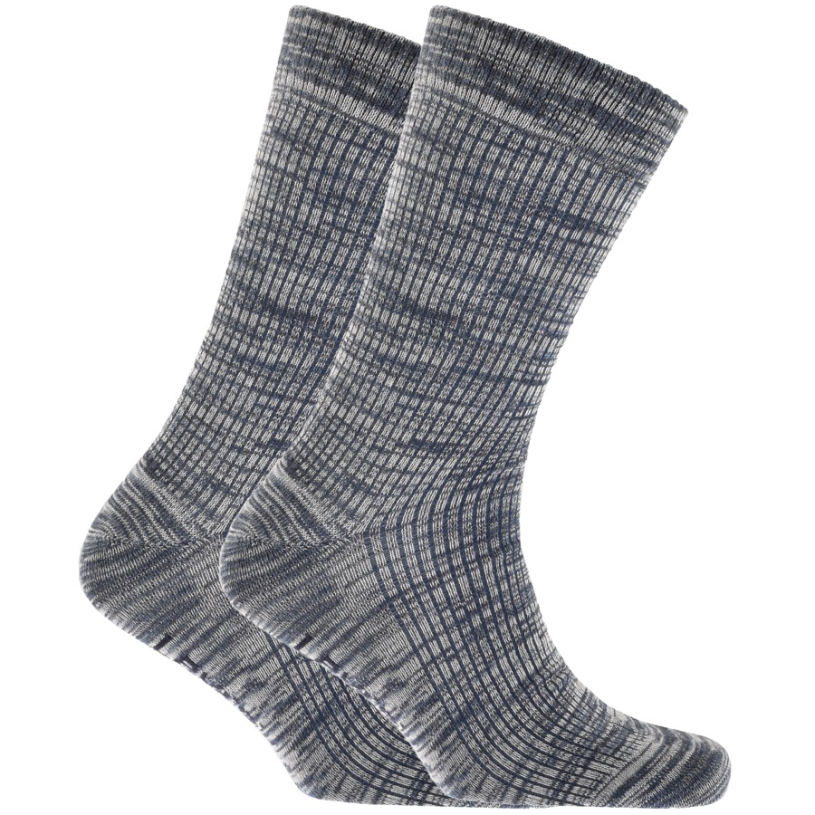 Levis 2 Pack Comfort 168SF Socks Blue
