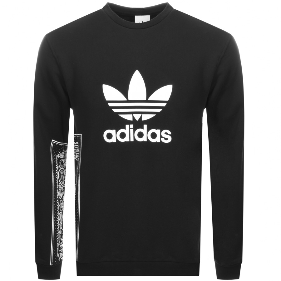 Main Product Image for Adidas Originals Bandana Crew Sweatshirt Black