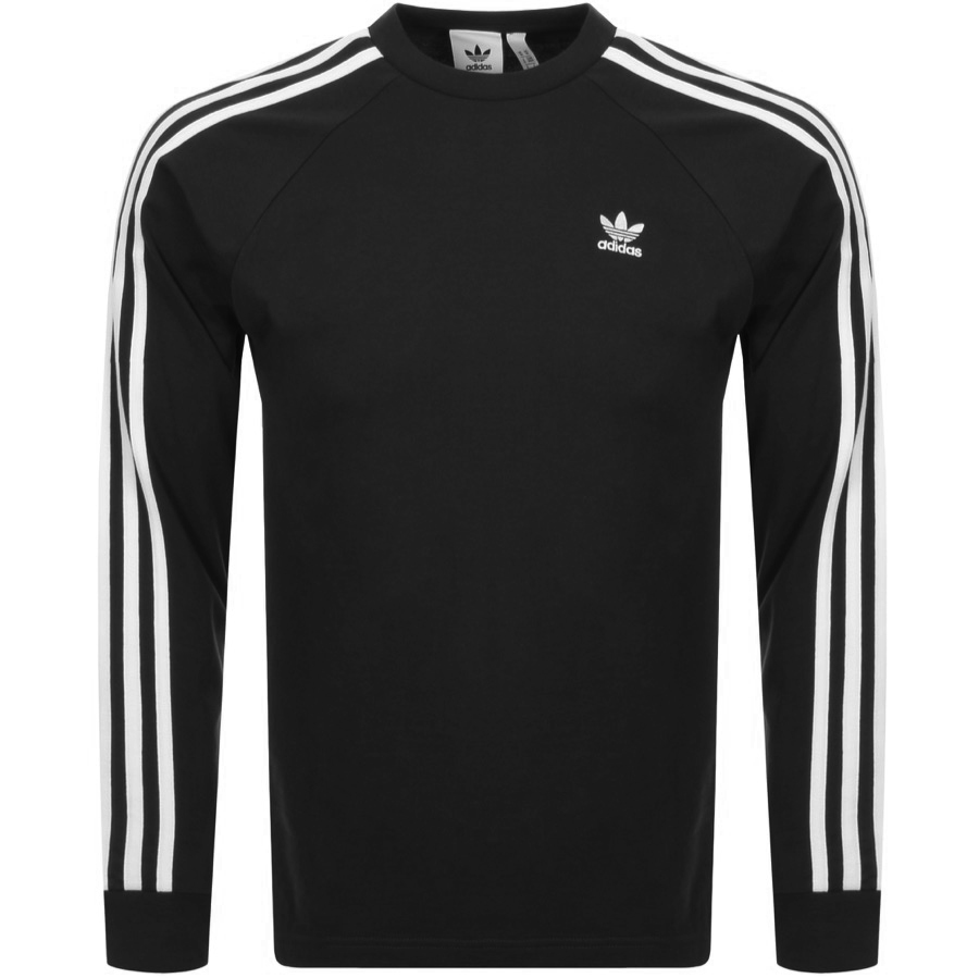 Main Product Image for adidas Originals Long Sleeve T Shirt Black