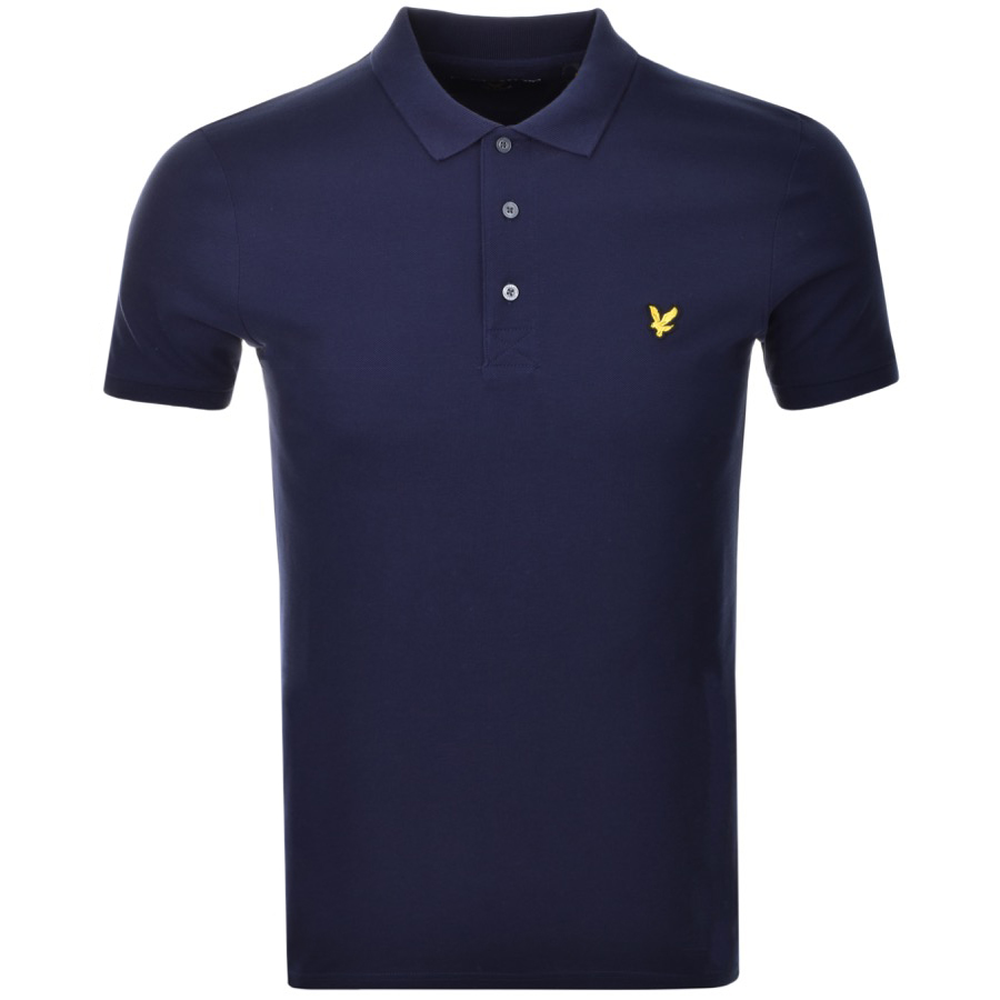 Lyle And Scott Polo T Shirt Navy