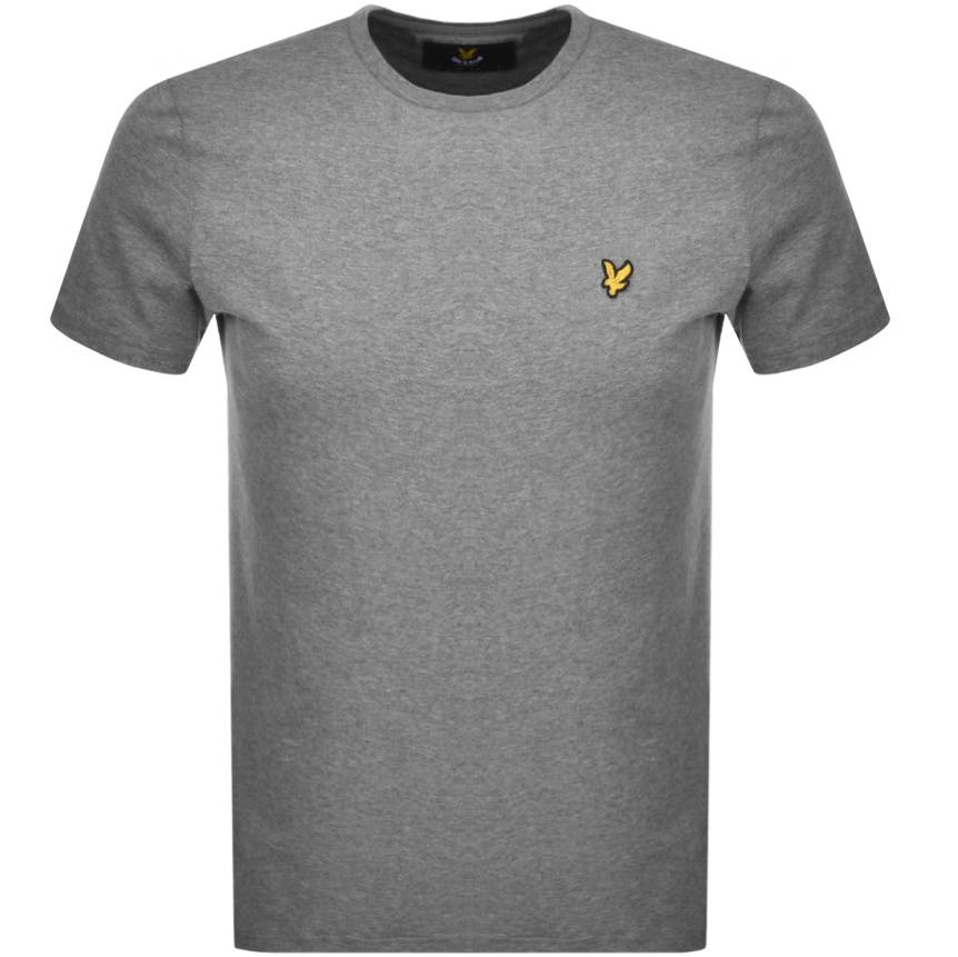 Main Product Image for Lyle And Scott Crew Neck T Shirt Grey