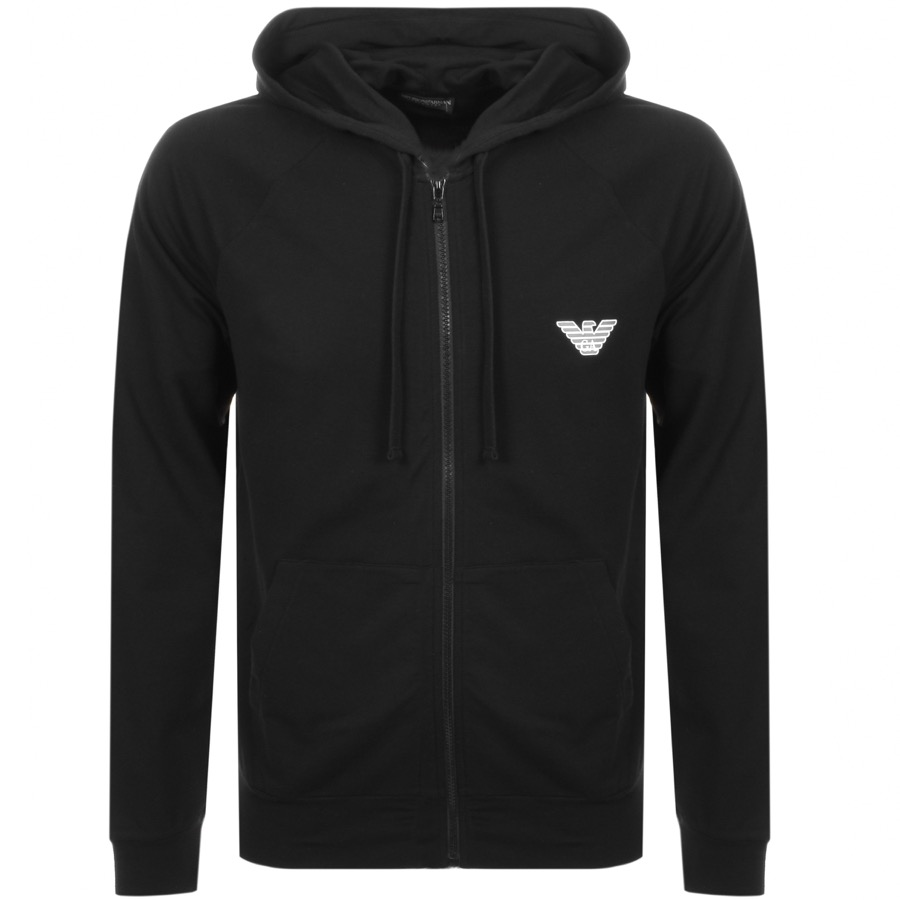 Main Product Image for Emporio Armani Full Zip Hoodie Black
