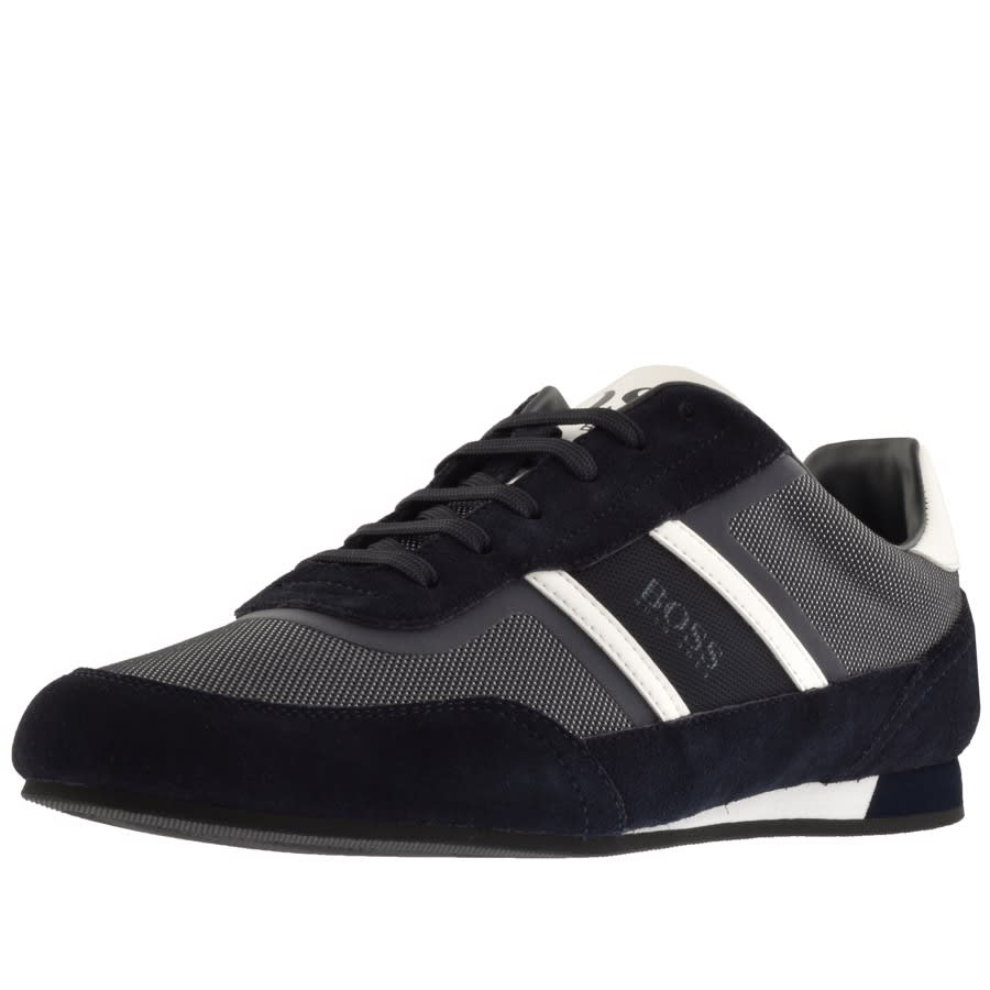 Main Product Image for BOSS Athleisure Lighter Lowp Flash Trainers Navy