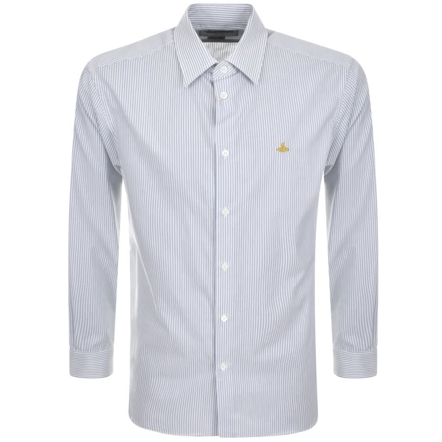 Vivienne Westwood Striped Shirt Blue