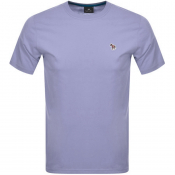 PS By Paul Smith Regular Fit T Shirt Lilac