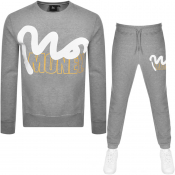 Money Logo Tracksuit Grey