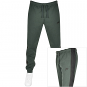 Nike Logo Jogging Bottoms Green
