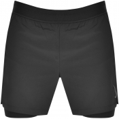 Nike Training Logo Yoga Shorts Black