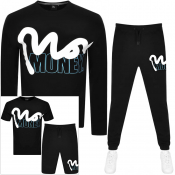 Money Four Pack Tracksuit Black
