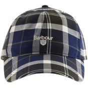 Barbour Tartan Sports Cap Green