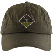 Barbour Beacon Wax Sports Cap Green