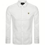 Lyle And Scott Slim Fit Long Sleeve Shirt White