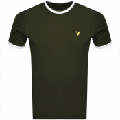Lyle And Scott Crew Neck T Shirt Khaki