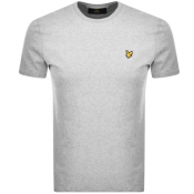 Lyle And Scott Crew Neck T Shirt Grey