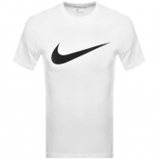 Nike Crew Neck Icon Swoosh T Shirt White