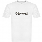 Money Real Cash T Shirt White