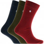 Barbour Triple Pack Socks Mix