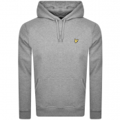 Lyle And Scott Pullover Hoodie Grey