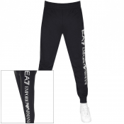 EA7 Emporio Armani Logo Jogging Bottoms Navy