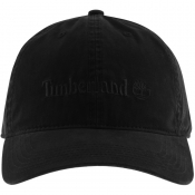 Timberland Cotton Canvas Cap Black