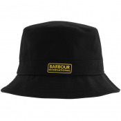 Barbour International Norton Drill Bucket Hat Blac