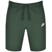 Nike Club Logo Shorts Green