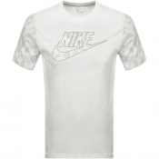 Nike Crew Neck Futura Club T Shirt White