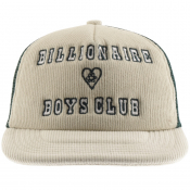 Billionaire Boys Club Corduroy Logo Cap White