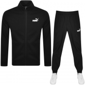 Puma Clean Tracksuit Black