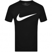 Nike Crew Neck Icon Swoosh T Shirt Black
