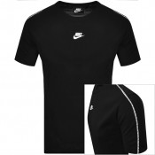 Nike Repeat T Shirt Black