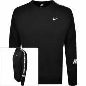 Nike Repeat Fleece Sweatshirt Black