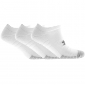 Under Armour Three Pack Trainer Socks White