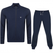 Emporio Armani Lightweight Lounge Set Navy