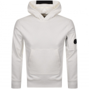 CP Company Pullover Hoodie White
