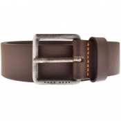 BOSS Leather Jeeko Belt Brown