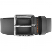 BOSS Leather Jeeko Belt Black