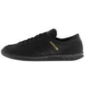 adidas Originals Hamburg Trainers Black