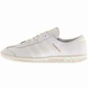 adidas Originals Hamburg Trainers White