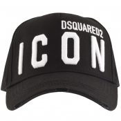 DSQUARED2 Icon Baseball Cap Black